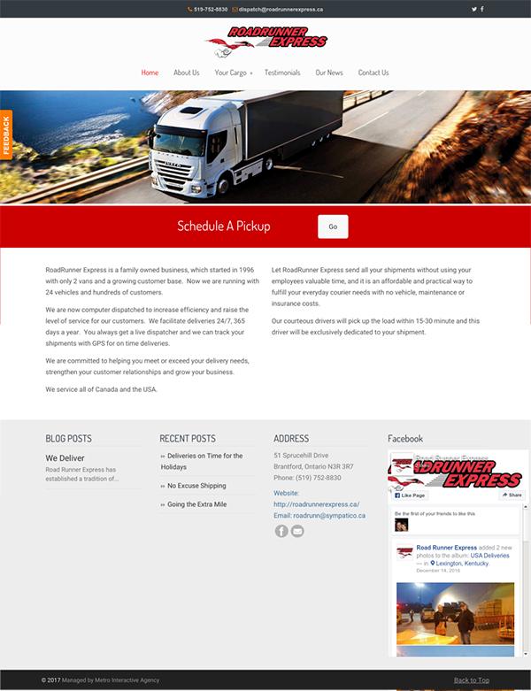 hamilton website design