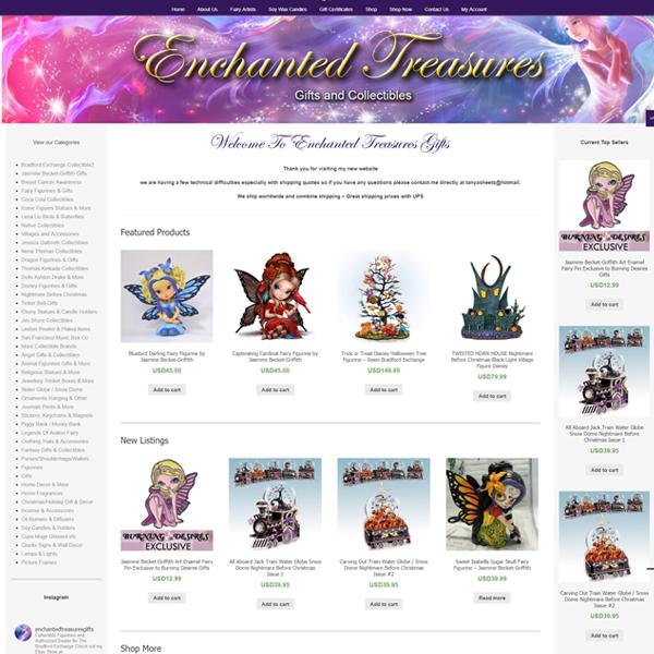 enchanted treasures