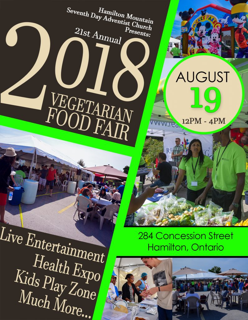 vegetarian food fair