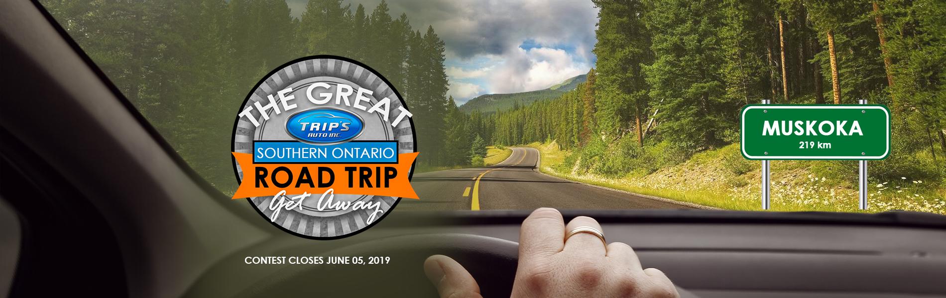 Trips Auto Road Trip Contest